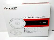 NEW Fujitsu Ten Eclipse 6X8 SE6800 Ford/Mazda/Nissan 3 Way Car Speaker