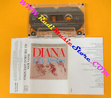 MC DIANA ROSS All the great love songs 1984 MOTOWN 6105MC no cd lp dvd vhs