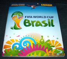 PANINI BRAZIL 2014 STICKER ALBUM - 100% COMPLETE - IMMACULATE CONDITION