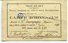 CPA - Carte Postale - Belgique - Mons - Le Beffroi - Carte d'Honneur - 1924