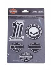 Harley Davidson Autocollant/sticker 3d Modèle No. 1 Décalque Bar & Shields Set