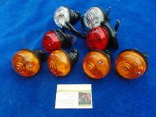 LAND ROVER SERIES 3 SET OF 8 LIGHT INDICATOR & TAIL LAMPS