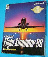 Microsoft Flight Simulator 98 - PC Big Box