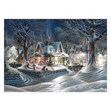Snow View 5D Diamond Painting Embroidery DIY Cross Stitch Home Wall Decor Gift