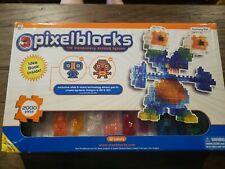 Pixelblocks - 2000 Blocks - Fantasy Set - With Idea Book - Used - Complete