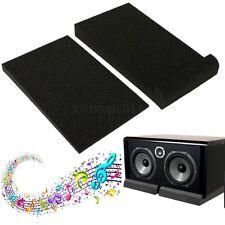 "Studio DJ Monitor Speaker Foam Isolation Pad Shock Proof Isolator Hold Up To 6"""