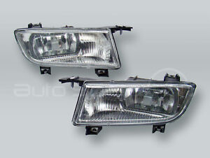 TYC Fog Lights Driving Lamps Assy with bulbs PAIR fits 2002-2005 SAAB 9-5