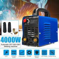 ZX7-200 220V DC Portable Electric MMA ARC Welder Mini Inverter Welding