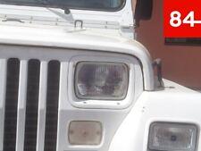 ++Jeep Wrangler YJ CJ-10 Scheinwerfer Set US  EU E-Prüfzeichen Umrüstung++