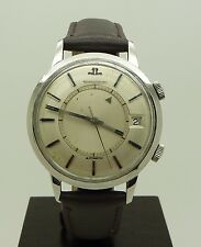 Rare Vintage S.Steel Jaeger Lecoultre Memovox Automatic Alarm Watch Cal. K825