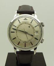 Rare Vintage S.Steel Jaeger Lecoultre Memovox Automatic Alarm Watch Cal. K825