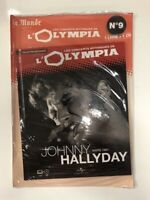 johnny hallyday concerts mythiques de l'olympia 1967 1 cd + 1 livre neuf bliste