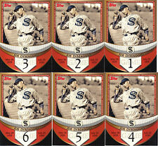 "2007  ""TOPPS""  JOE DiMAGGIO  ""THE STREAK BEFORE THE STREAK""  59 CARD LOT"