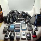 Vintage+cell+phone+lot+Flip+Blackberry+Kyocera+Nokia+Motorolla+Alltell+Chargers