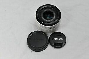 Samsung 20-50mm f/3,5-5,6 ED II (NX Bajonett) - weiß , mit Gewährleistung