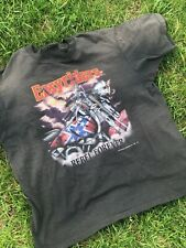 Vintage 1992 Easy riders t-shirt size Xl Rebel forever 50/50 made in Usa