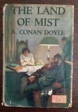 The Land of Mist by Arthur Conan Doyle - 1st American edition