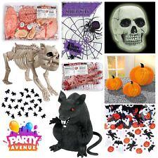 Decoraciones De Mesa De Halloween Esqueleto Espeluznante Araña Accesorios favores Confeti