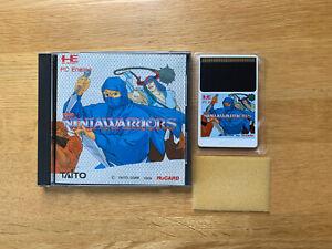 NEC The Ninja Warriors PC ENGINE TurboGrafx Turbo Duo Arcade Japan Complete