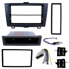 Radio Replacement Dash Mount Kit 2-DIN w/Pocket & Harness/Antenna for Honda CR-V