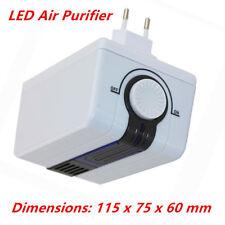 LED Air Purifier Cleaner Smoke Ionic Ionizer Negative Fresh Office Room US Plug