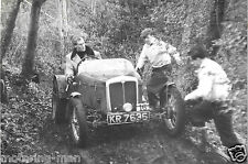 EXPERIENCE TRIALS CAR KR 7636 P F HIGHWOOD KENTISH BORDER TRIAL 1957 PHOTOGRAPH