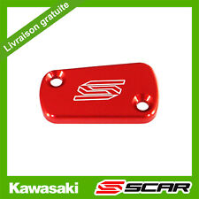 COUVERCLE MAITRE CYLINDRE FREIN ARRIERE ROUGE KAWASAKI KX KXF 65 85 125 250 450