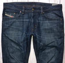 Mens DIESEL Thavar Jeans W36 L32 Blue Slim Skinny Fit Wash 0842N