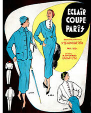 1953 Fall  Eclair Coupe Paris Pattern Book Reprint