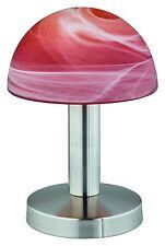 Bellos touch me lámpara de mesa/mesa de noche lámpara/2. elección/cromo