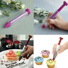 Silikon Spritze Pen Platte Kuchen Plätzchen Gebäck Sahne Schokolade Dekorieren