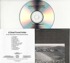 A DEAD FOREST INDEX In All That Drifts From Summit Down 2016 UK 13-trk promo CD
