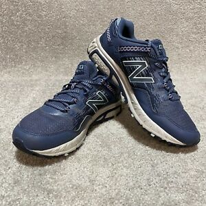 New Balance Womens 410v6 Trail Shoes Sneakers Blue WT410L16 Size 8.5 Hiking Run