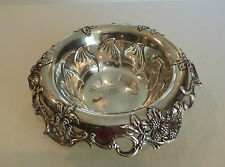 "GORGEOUS TIFFANY & CO. STERLING SILVER ""BLACKBERRY"" 10"" FRUIT BOWL"