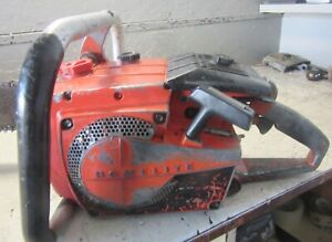 """VINTAGE COLLECTIBLE HOMELITE VI-944 CHAINSAW WITH 28"""" BAR"""