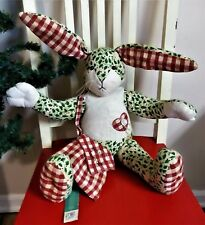"Bath & Body Works Hare Therapy Plush Bunny Rabbit 18"" Christmas Lifelong Friends"