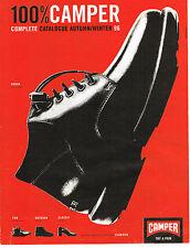 PUBLICITE ADVERTISING 064  1996  CAMPER   chaussures