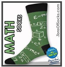 Men's Math Socks (Green)