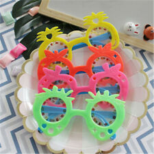 2pcs Kids Fruit Pineapple Eye Glasses Kids Hawaii Beach Party Supplies Decor TWK