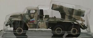 1 72 CAMION LANZAMISILES COLECCION RUSSIAN TANK ps309k51 GRAD BLISTER ESCALA
