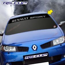 1217 Sticker logo RENAULT SPORT 2007 2015 aufkleber Clio Megane Noir et argent