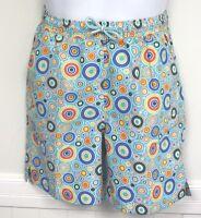 bc0216a3c91eb Peter Millar Swimsuit Seaside Blue Circles Yellow Swim trunks suit shorts  Boys