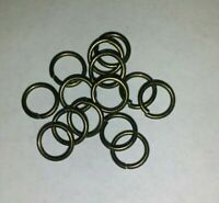 Bronze OR black color jump rings for jewelry making or repair choose how many