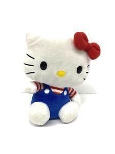 Ty Beanie Baby Hello Kitty USA 2009 Sanrio Plush Stuffed Animal