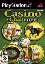 Casino Challenge   Sony PlayStation 2 PS2 Used
