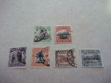 PENRHYN COOK ISLANDS Stamps SG 32-7 Scott 25-30 JAMES COOK Fine Used