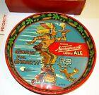 Vintage Narragansett BEER TRAY Signed Dr. Seuss  with GLASSES = Estate Find Used