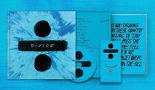 Ed Sheeran Divide limited edition BLUE vinyl 2 LP / CD box set - SOLD OUT