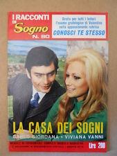 I RACCONTI DI SOGNO n°80 1972 Fotoromanzo Anni 70 - Carlo Giordana  [G581]