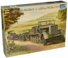 Trumpeter #7275 German SdKfz 9 Halftrack w/Trailer 1:72 NIB Free Shipping